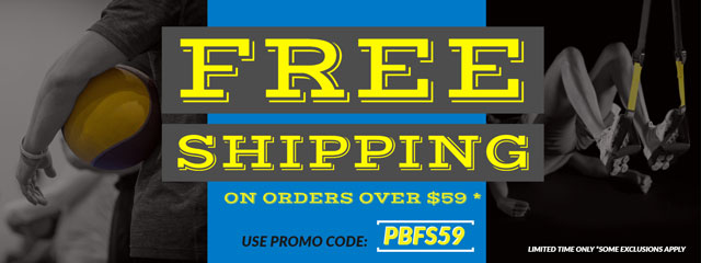 Free Shipping on orders over $59 for a limited time! Promo code: PBFS59