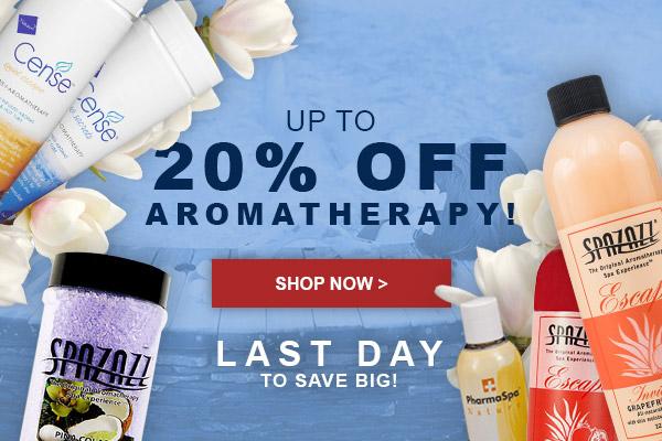 Last Day to Save 20% on Aromatherapy Products!