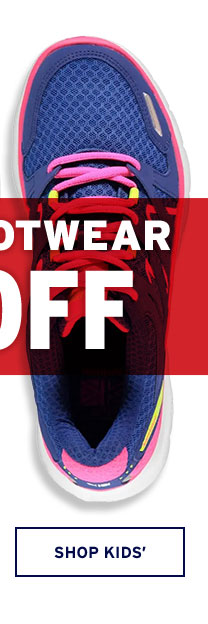 Up to 50% OFF Clearance Footwear - Click to Shop Kids'