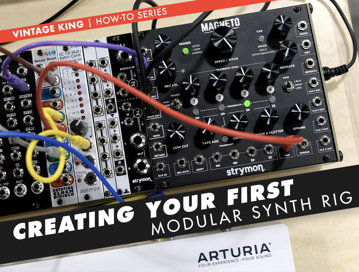 Creating Your Own Modular Synth Rig