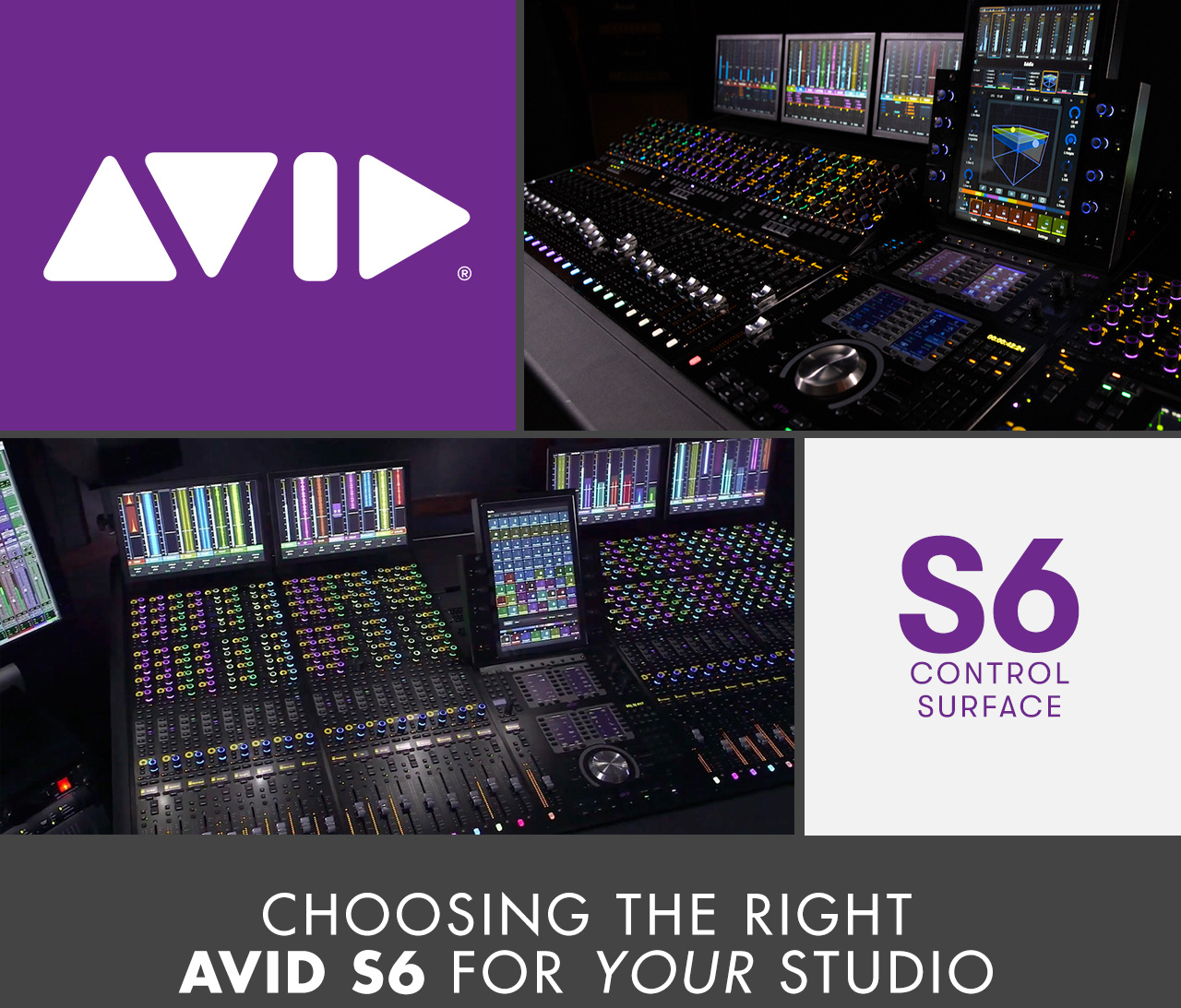Choosing The Right Avid S6 For Your Studio