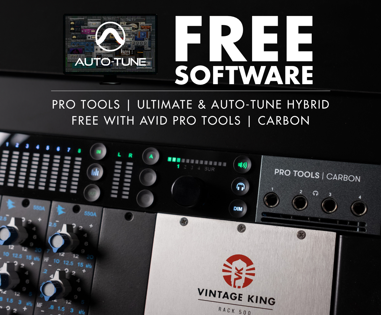 Free Pro Tools   Ultimate & Auto-Tune Hybrid With Avid Pro Tools   Carbon