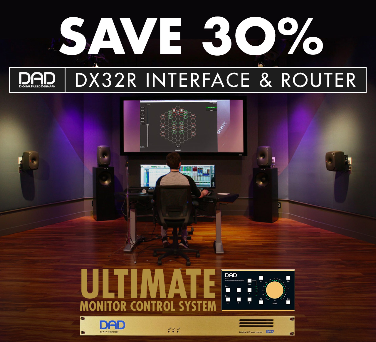 Save 30%: DAD's DX32R Interface & Router